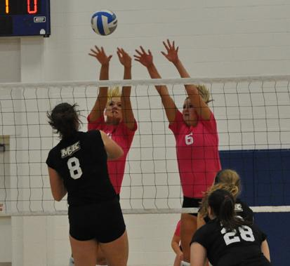 Volleyball's five game win streak cut short