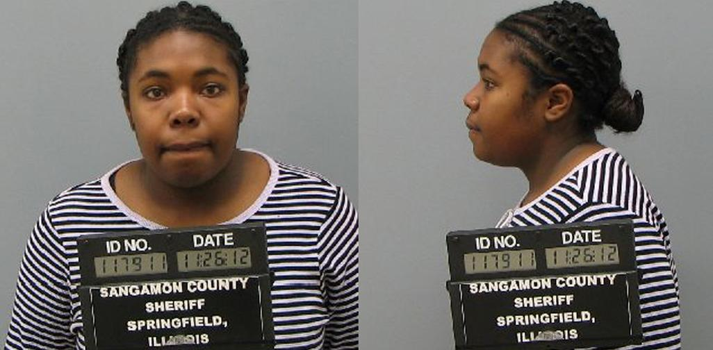 UIS student Juatasha Denton-McCaster, 22, charged with three counts of first-degree murder of her husband, Norman McCaster, is in the Sangamon County Jail on a $5 million bond.