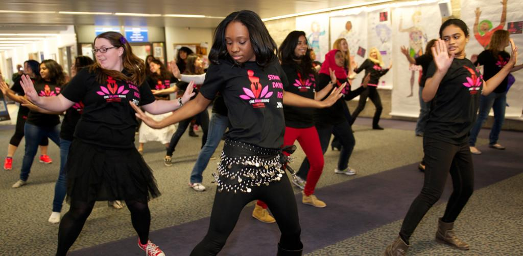 'One Billion Rising' shines light on violence against women