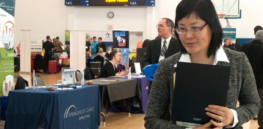 Career Fair aims to help students in a difficult job market