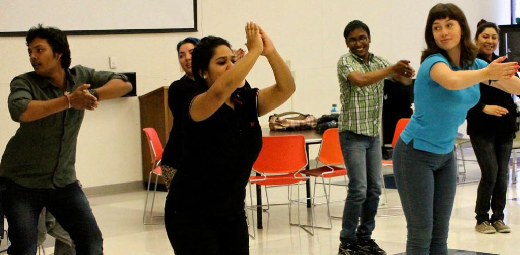 UIS' Inaugural International Week features dance, food and fun