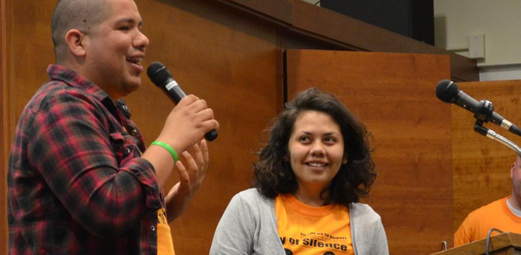 Day of Silence speaks to UIS community: 'Undocuqueer I Exist' sheds light on LGBTQ students and the immigrant experience