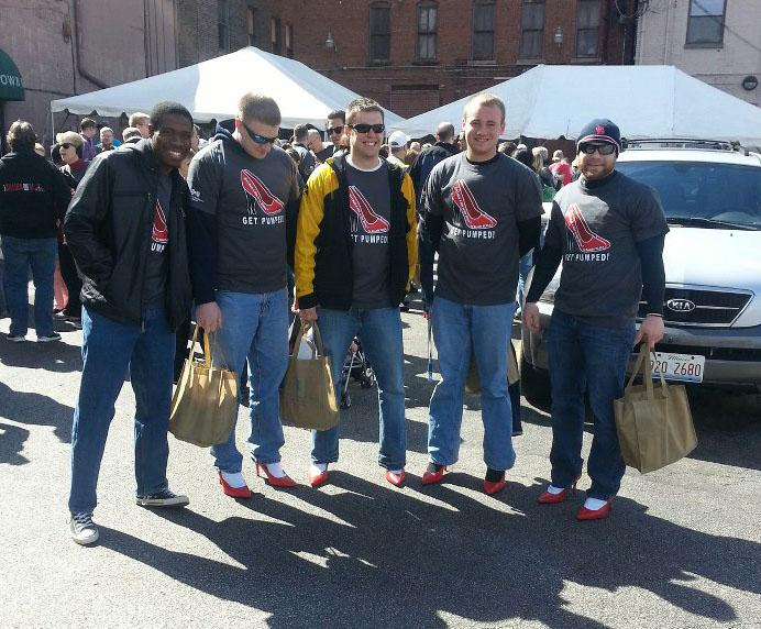 Men in heels raise sexual assault awareness