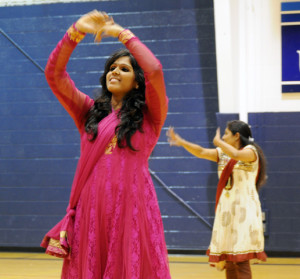 Organizations celebrate goddess through dance