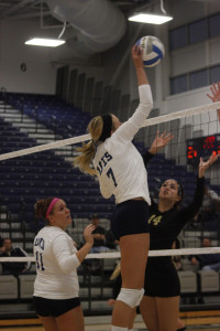 UIS volleyball down two matches, comes back to win