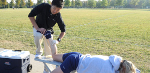 Women's soccer injuries peak, Furumi to the rescue