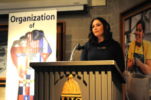 UIS alumna speaks on Latino issues