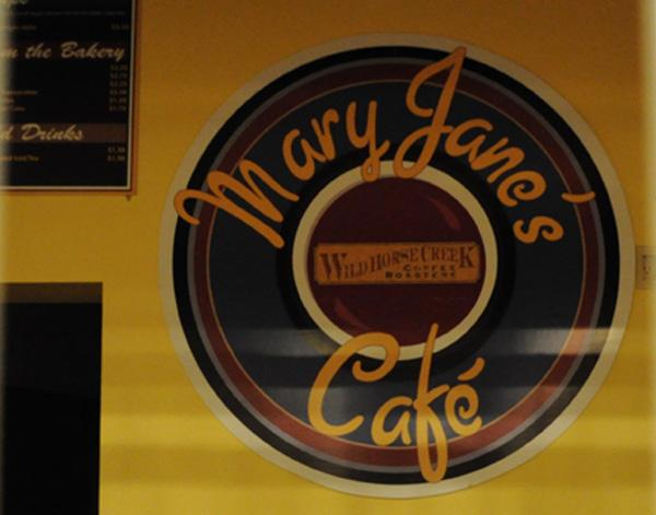 Mary Jane's Café sits vacant on the basement level of Brookens Library.