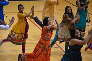 UIS host Durga Dance Night