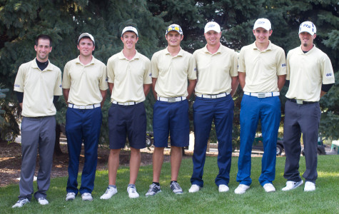Men's golf tie for 14th at Harborside