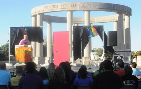 LGBTQA Resource Office hosts annual 'Coming Out on the Quad'