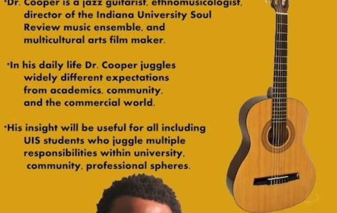 Dr. Tyron Cooper will be visiting UIS