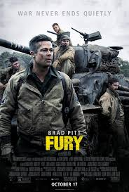 'Fury' is the top war film of 2014