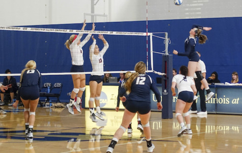 Southern Indiana sweeps UIS volleyball