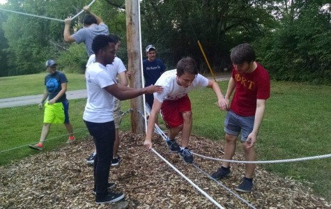 UIS Challenge Course is about fostering teamwork and trust
