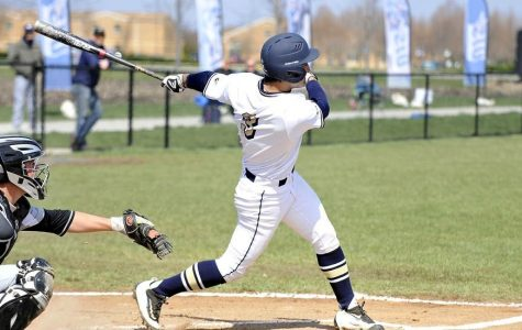 Surging offense shines as baseball team continues home stand