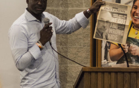 Yusef Salaam visits UIS to discuss Central Park Five case