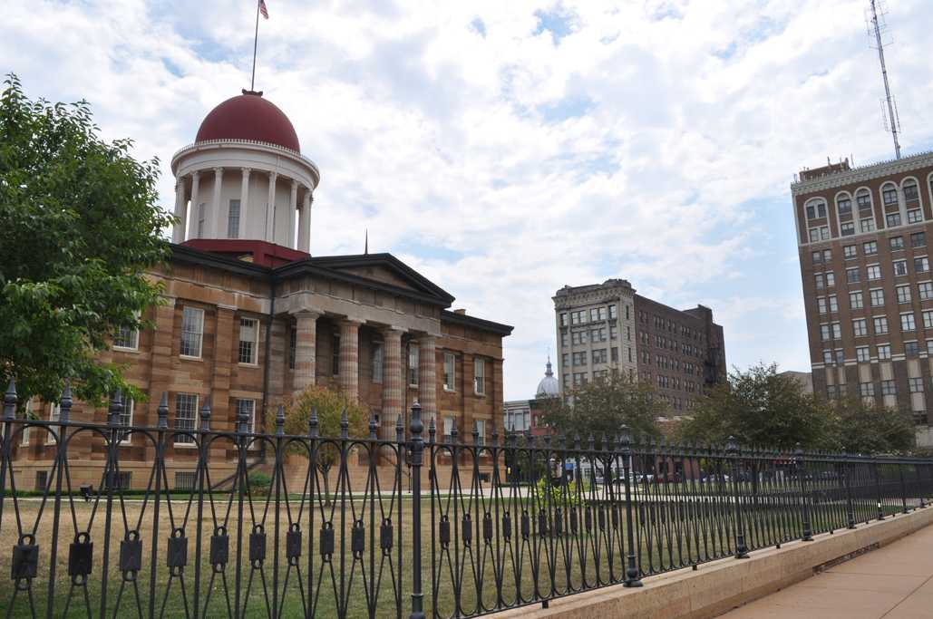 One destination you could visit is the Old State Capitol Building.