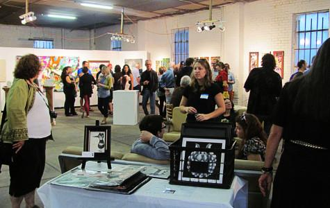 Growing art community featured UIS students' work