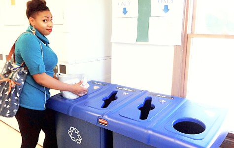 New Recycling Bins for Residence Life