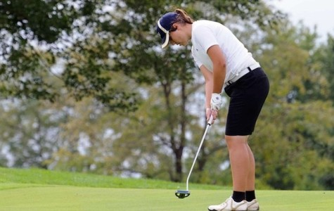 Women's golf tie for 15th place