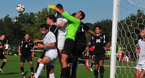 Men's Soccer Team solves road woes, blanks Maryville