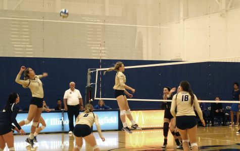 Women's Volleyball team swept by McKendree