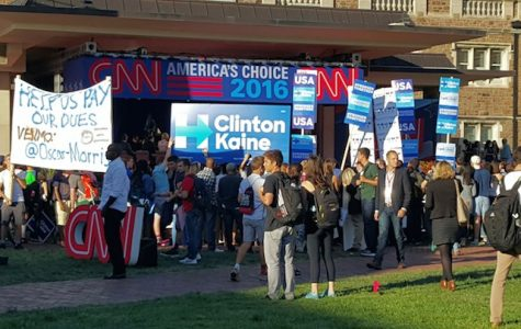 WU students politically engaged during second presidential debate