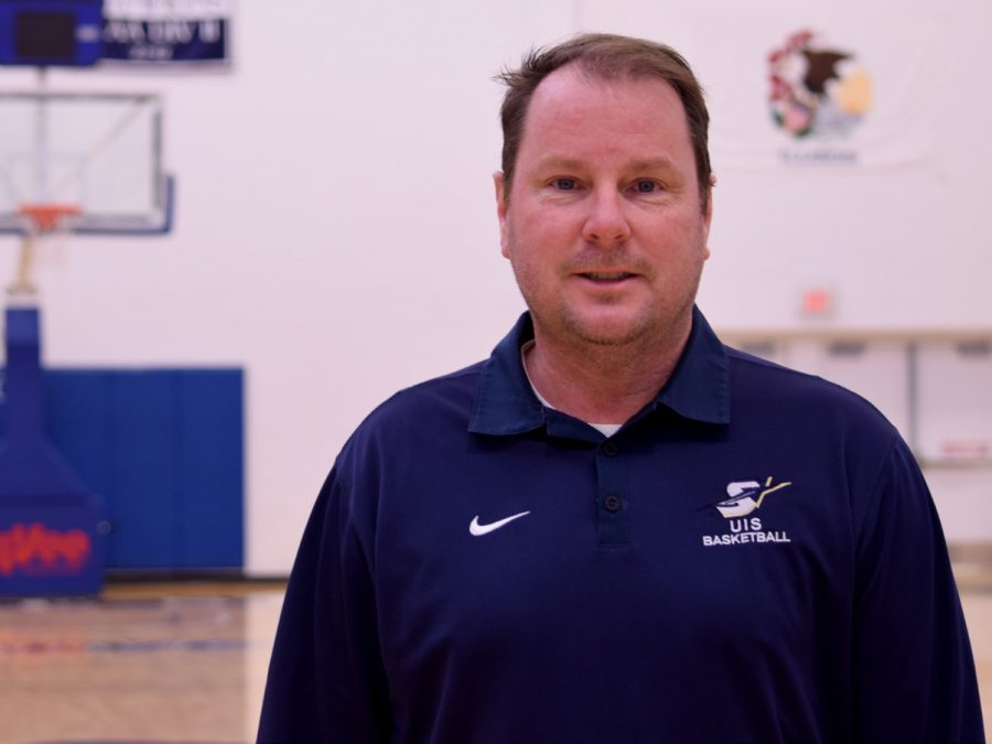 UIS Men's Basketball Head Coach Bill Walker