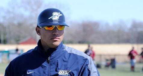 Head baseball coach Chris Ramirez
