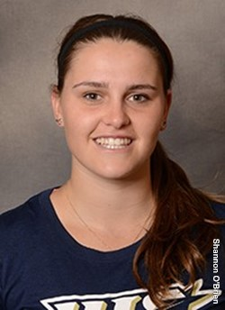 Jane Carter, UIS tennis player. Photo Courtesy UIS Athletics
