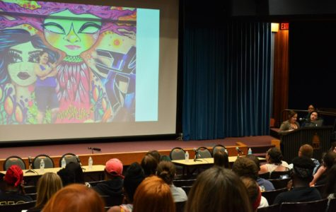 Art collective Mujeres Mutantes presents their mural art at UIS