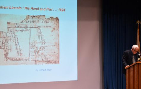 Lincoln Legacy Lecture discusses education