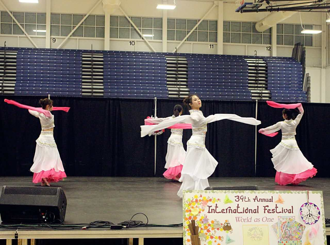 2017 dance troupe performs at UIS 39th annual International Festival