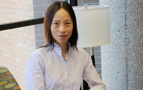 Lan Dong, has been recognized as the Louise Hartman Schewe and Karl Schewe Professor in Liberal Arts and Sciences