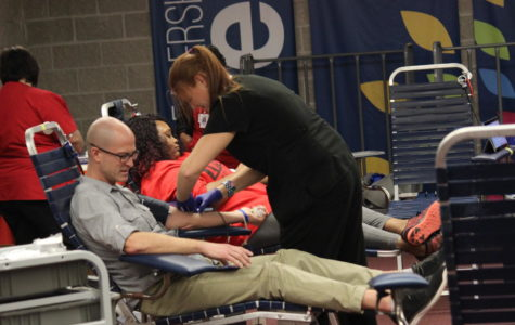 UIS hosts Mississippi Valley Regional Blood Center