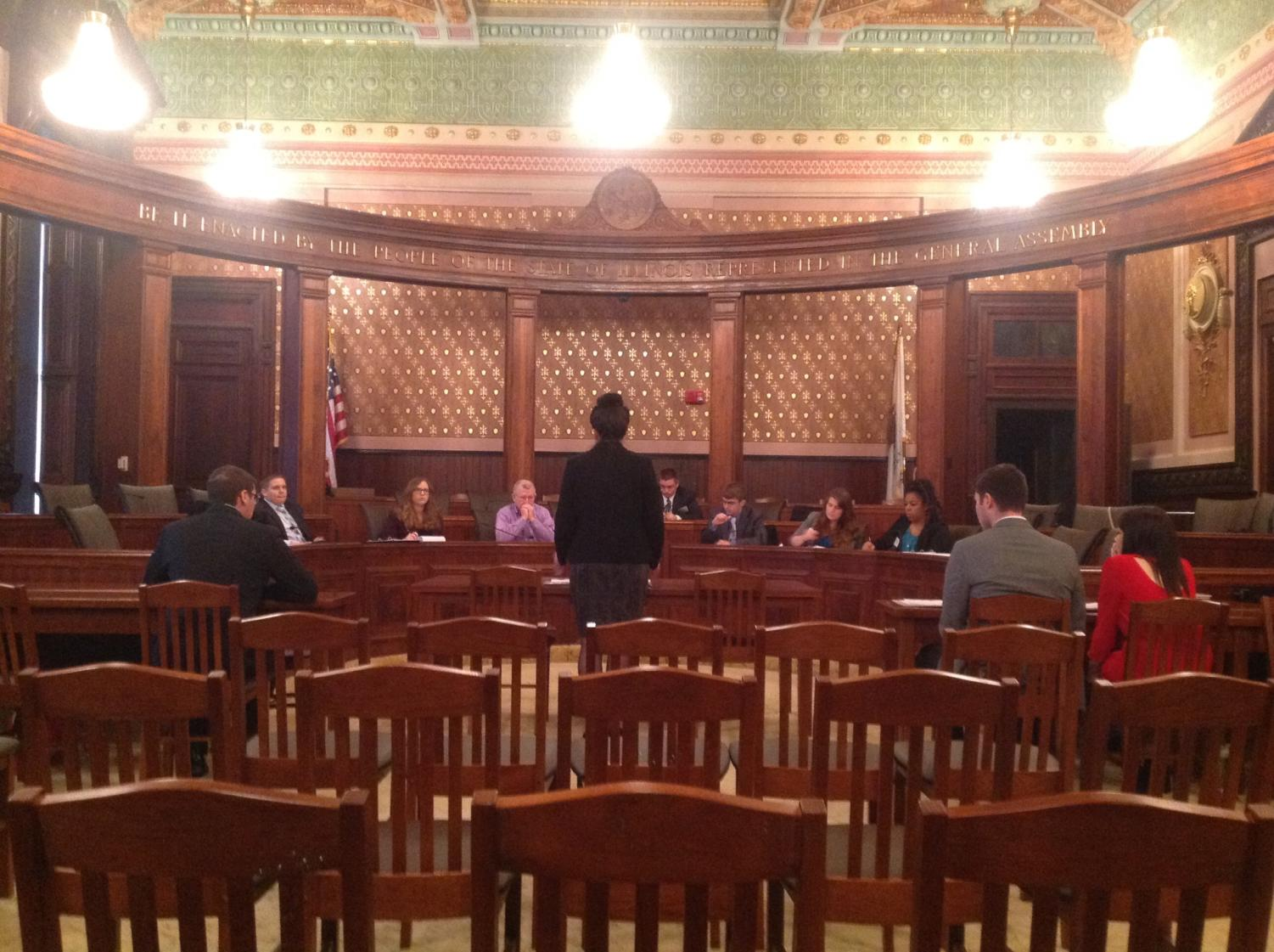 Model Illinois Moot Court competition