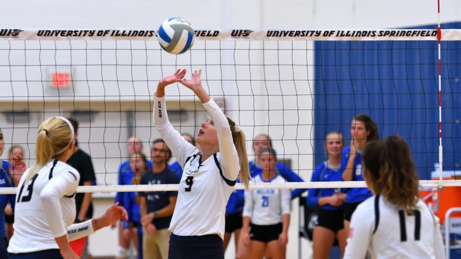 University of Illinois Springfield Volleyball Finishes Warriors Classic With Winning Record