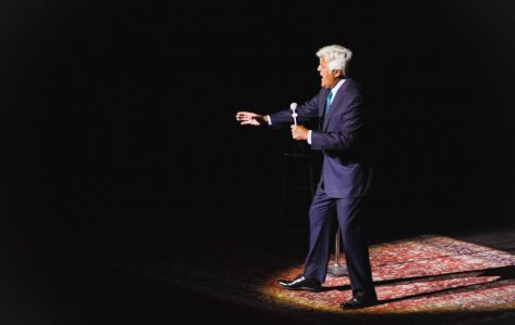 Leno Comes to the University of Illinois Springfield