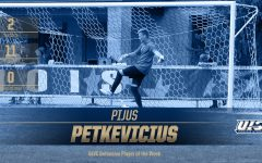 Petkevicius Selected as GLVC Defensive Player of the Week