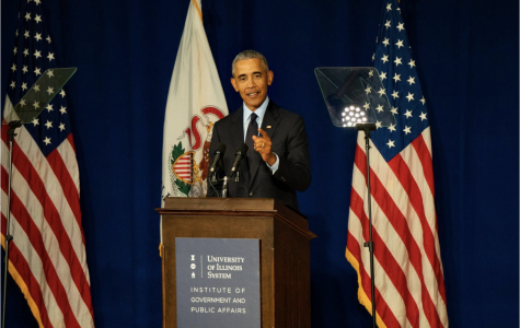 Obama Decries 'Radical' Conservatism,  Rallies Young Voters In UIUC Address