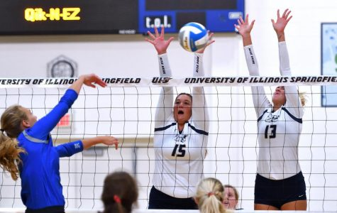 Volleyball Earns First Victory Over Top-10 Team With Comeback Win Over Drury