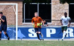Petkevicius Breaks Shutout Record, UIS Battles Elements in Win against Cardinals