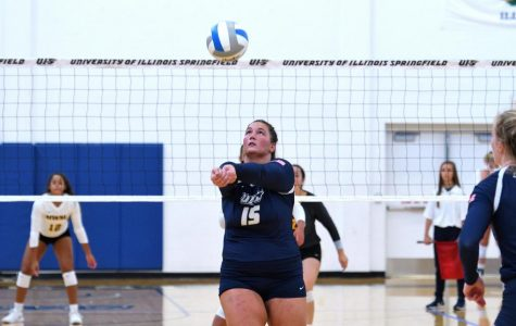 University of Illinois Springfield Volleyball Sweeps Season Series Against McKendree