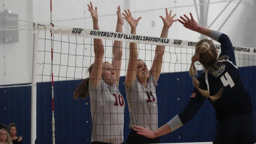 UIS Volleyball Falls On Senior Day