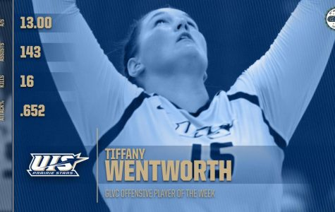 Tiffany Wentworth Earns Second GLVC Player of the Week Award This Month