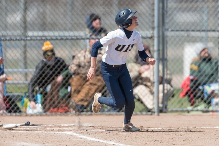 UIS+Softball+Scores+21+Runs+In+Two+Wins+On+Friday