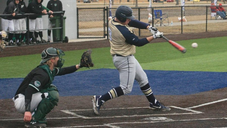 UIS+Baseball+Wins+Eighth+Straight+And+Sweeps+Southern+Indiana+Series