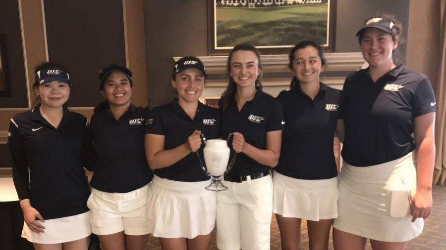 Women%27s+Golf+Wins+Team+and+Individual+Titles+At+Triton+Invitational