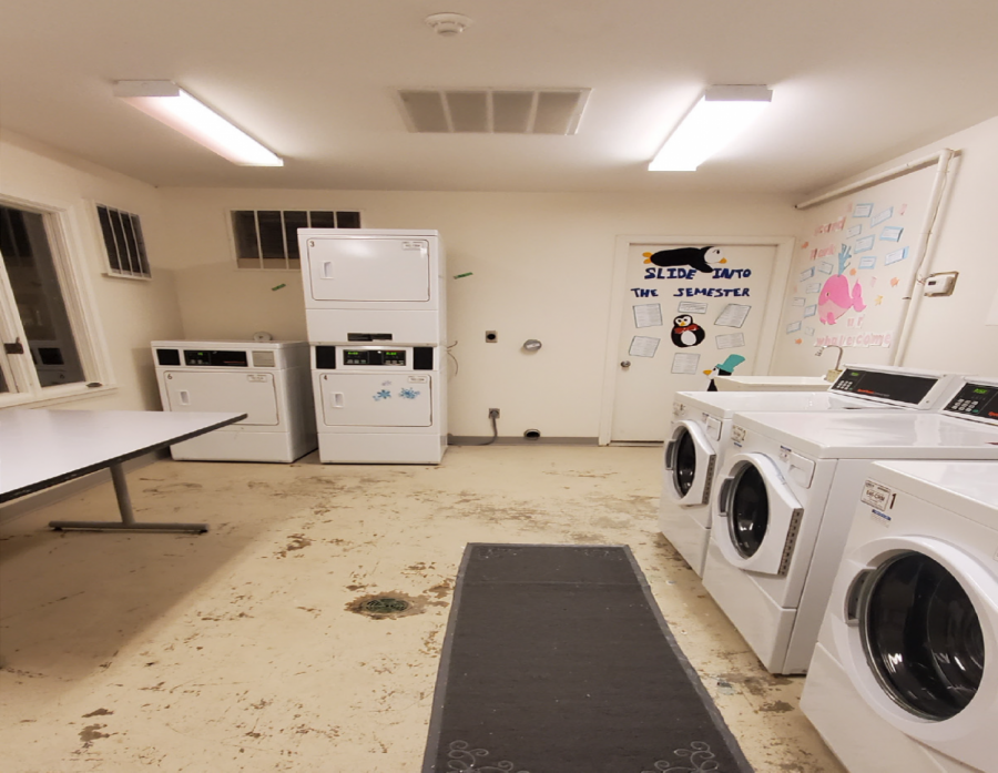 UIS OFFERS FREE LAUNDRY TO STUDENTS
